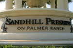Sandhill Preserve community sign