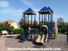Amenities for all ages! A tot-lot is located adjacent to the clubhouse at The Isles on Palmer Ranch.